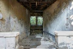 Old prison corridor Stock Image