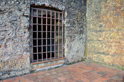 Old prison door. Castle Fort - Forte do Castelo - Brazil - Belem - Amazonia Royalty Free Stock Photo