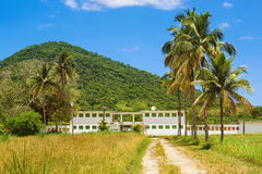 Old Prison in Ilha Grande, Rio de Janeiro, Brazil Royalty Free Stock Images