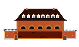 Old prison vector Stock Image