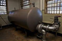 Old Prison Water Heater. A prison water heater on Alcatraz royalty free stock photos