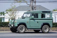 Old Private car. Land Rover mini Truck. Royalty Free Stock Image