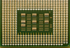 The old processor Royalty Free Stock Image