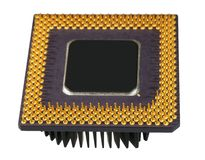 The old processor Stock Photography