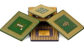 Old processors Royalty Free Stock Image