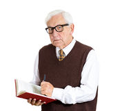 Old professor Stock Image