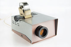 Old projector for displaying slides Stock Photography