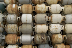 Old Propane Tanks Royalty Free Stock Image