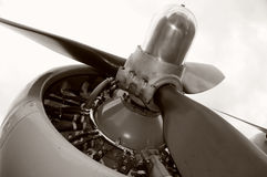 Old propeller Royalty Free Stock Photography