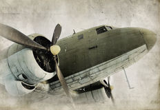 Free Old Propeller Airplane Stock Photo - 9049140