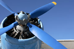 Old Propeller-Driven Airplane Stock Image