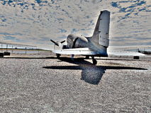 Old Propeller Engined Aeroplane Airplane Royalty Free Stock Images