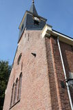 Old protestant church. In Oosterwolde(friesland)in the Netherlands Royalty Free Stock Photos