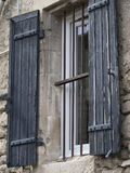 Old provencal window Stock Image