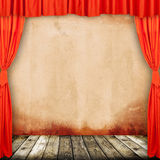Old provincial theater Royalty Free Stock Image