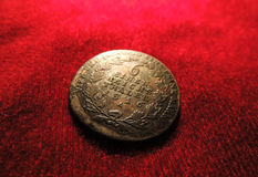Old Prussian Silver Coin Royalty Free Stock Photography