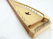 Old Psaltery Harp Royalty Free Stock Photography