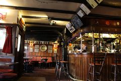 Old Pub in Canterbury in Kent stock photo