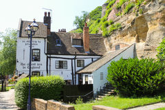 An Old Pub in England Stock Photo