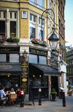 Old pub in London Stock Photo