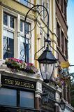 Old pub in London Royalty Free Stock Photo