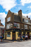 Old pub in Shoreditch, London, UK Stock Photos