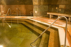 Old public baths interior Stock Photography