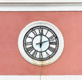 Old public clock Royalty Free Stock Photos