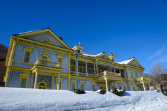 Old Public Hall of Hakodate Ward in the city of Hakodate, Hokkaido Royalty Free Stock Photos