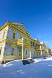 Old Public Hall of Hakodate Ward in the city of Hakodate, Hokkaido Stock Images