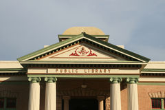 Old public library Royalty Free Stock Photography