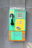 Old public phone Royalty Free Stock Images