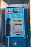 Old public phone Royalty Free Stock Photography