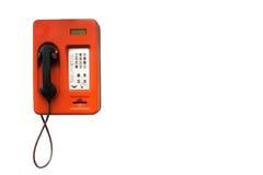 Old public telephone Stock Photo
