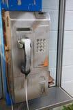 Old public telephone Stock Photos