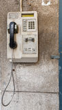Old public telephone Stock Image