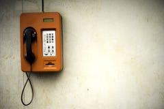 Old public telephone Stock Image