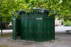 Old public toilet at Gendarmenmarkt Royalty Free Stock Photography