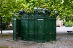 Old public toilet at Gendarmenmarkt Royalty Free Stock Photography