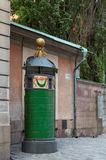 Old public toilet in Stockholm, Sweden Stock Photos