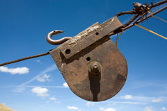 Old pulley, Stock Photography