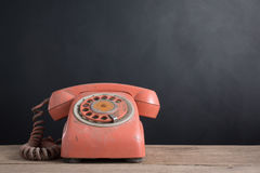 Old pulse telephone Royalty Free Stock Images