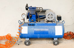 Old pump compressor Stock Photography