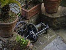 Old pump parts Royalty Free Stock Image