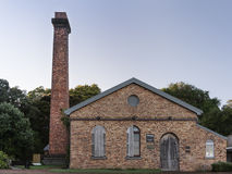 Old pump station at lake Pupuke, Auckland. Royalty Free Stock Image
