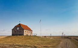 Old pumping station in the Danish Royalty Free Stock Photos