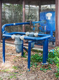 Old pumping system Royalty Free Stock Images