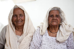 Old punjabi women Stock Images