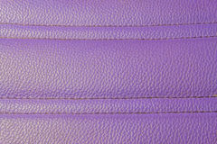 Old purple leather Royalty Free Stock Photography