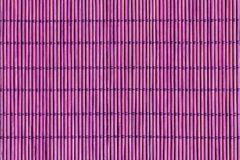 Purple Bamboo Mat Texture Background Royalty Free Stock Photo